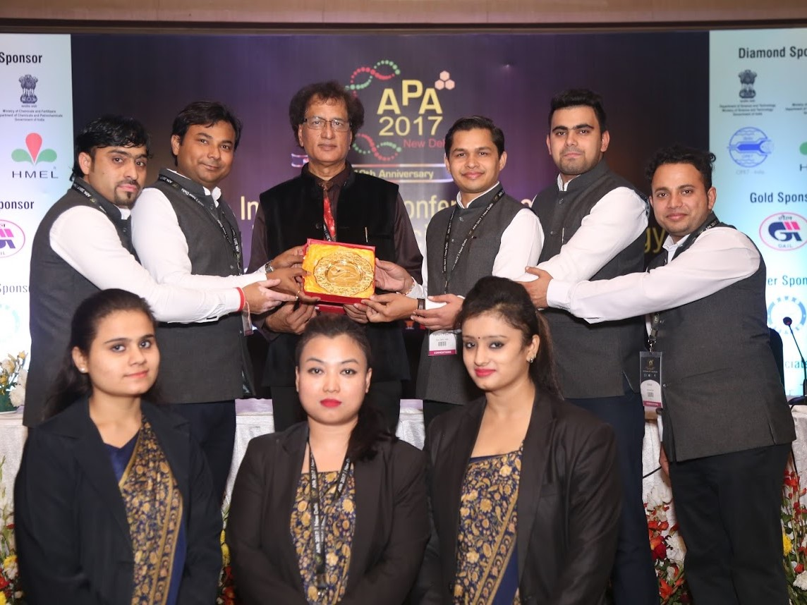 APA 2017: Felicitation to Connextions Team