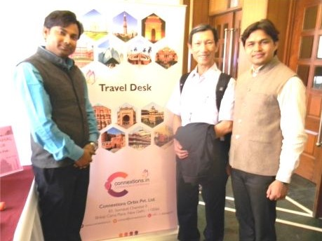 Connextions: First Traveller Dr. Chu Singh Yang, Taiwan on 13th Feb'17